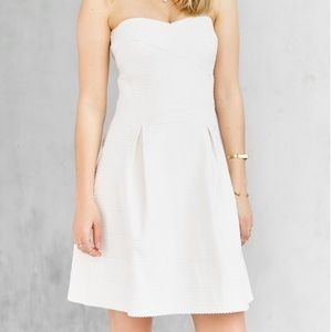 Urban Outfitters Glamorous Strapless Dress